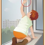 мальчик на окне