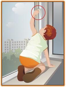 Окно – источник повышенной опасности для ребенка!