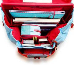 Научите ребенка правильно ежедневно собирать свою школьную сумку